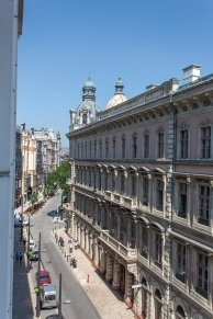 View from the room - Hotel Erzsébet City Center - hotel Budapest