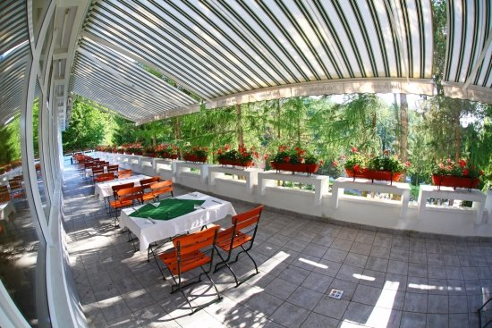Terrace - Danubius+Health+Spa+Resort+Sovata - hotel Sovata