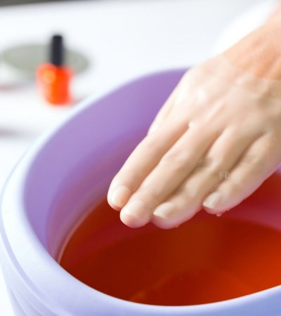 Hand Care with Paraffin