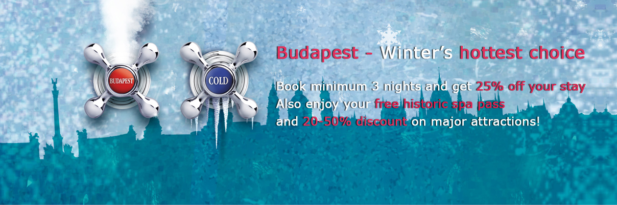 Budapest Winter Invitation in Danubius Hotels Hungary