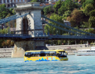 RiverRide Budapest city sightseeing on land and water