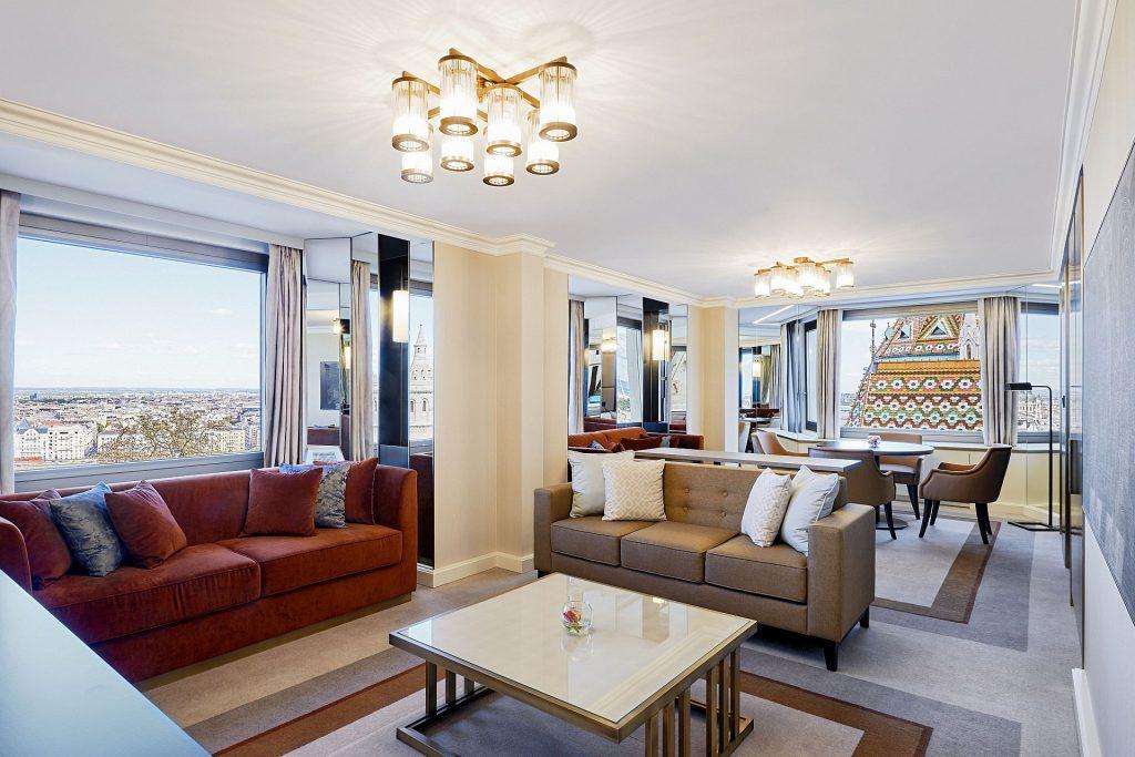 Hilton Budapest suite