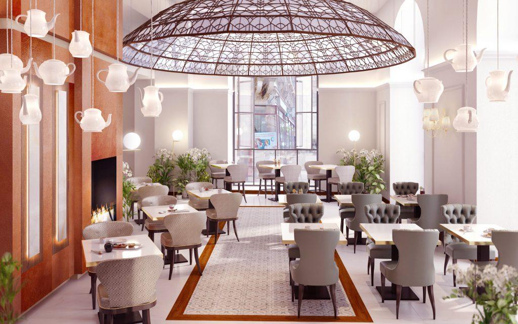 Radisson Blu Béke Hotel Cafe Zsolnay