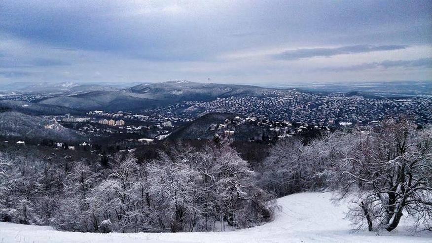 Normafa with snow
