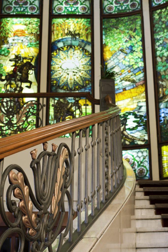 Hotel Gellert Lobby Stairs