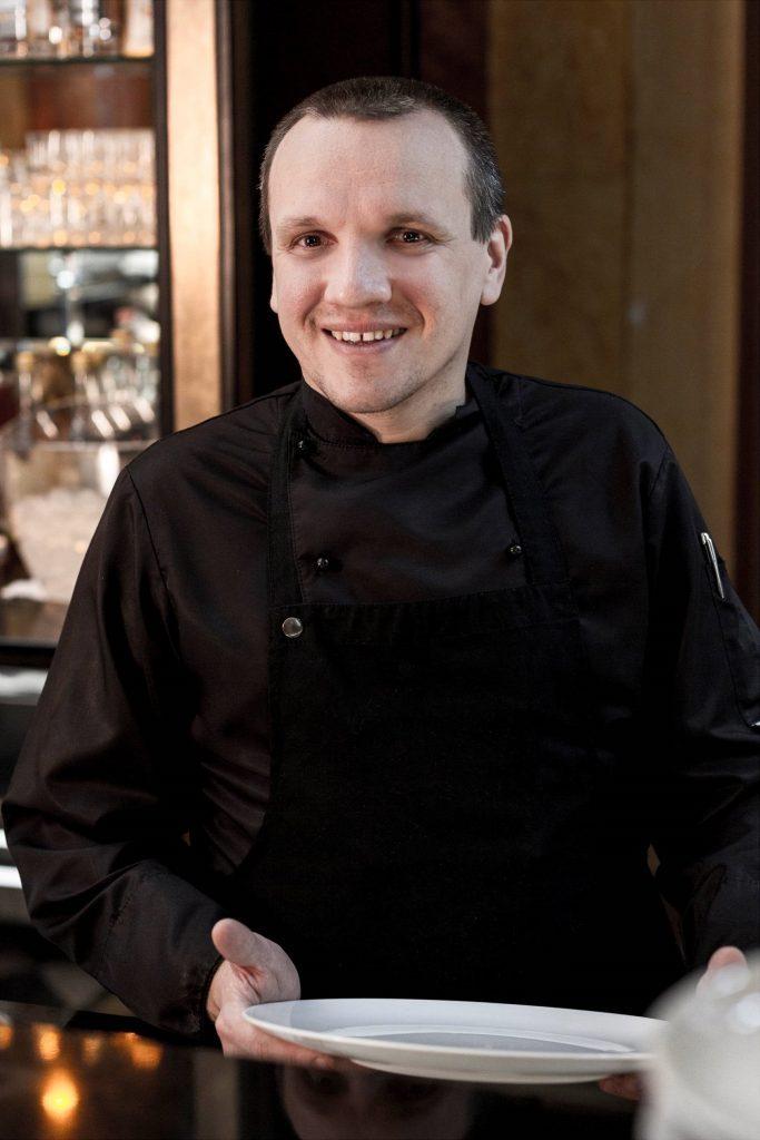 Zsolt Litauszki - Chef Gundel Restaurant Budapest