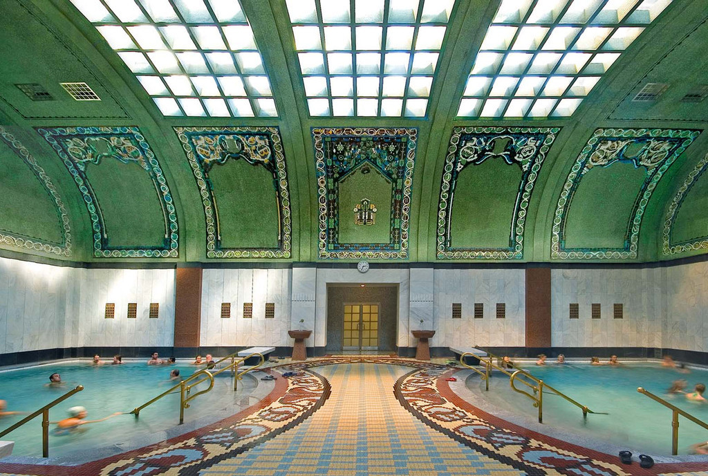 Gellert Thermal Bath Indoor