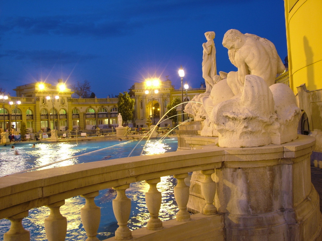 Szechenyi Thermal Bath Outdoor Pool
