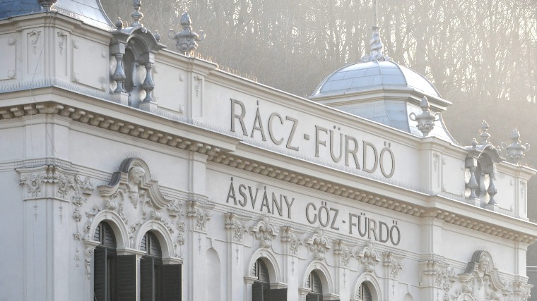 Rácz Thermal Bath Forefront