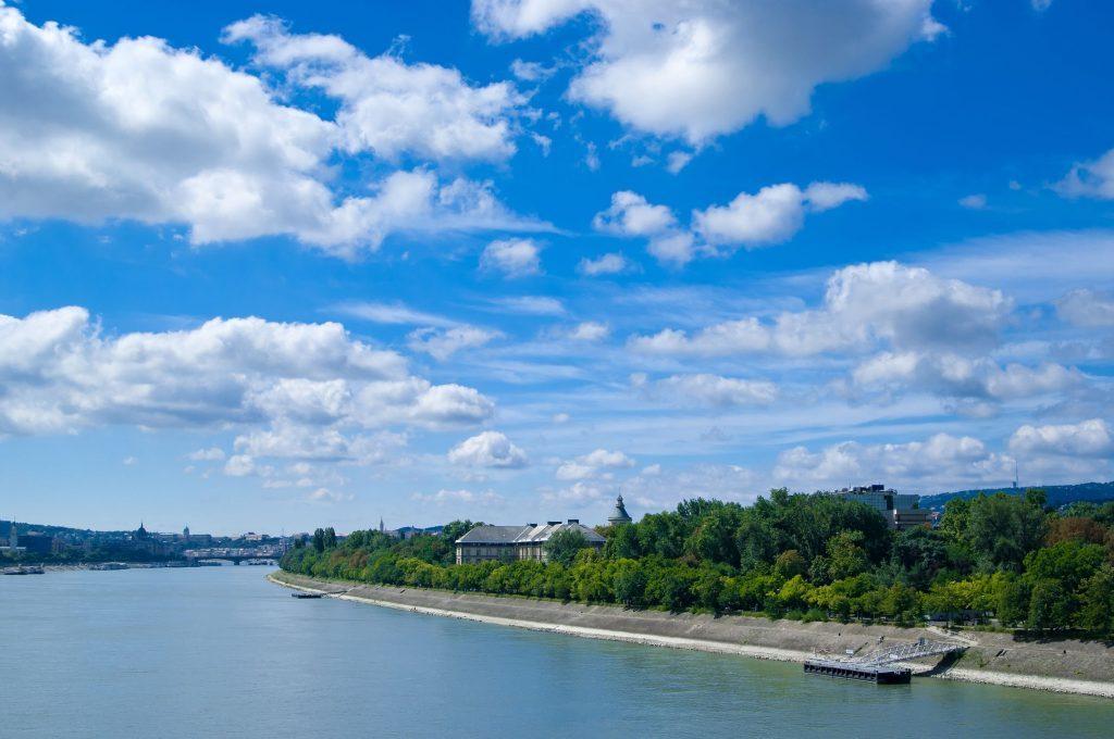 Margaret Island - Danube view