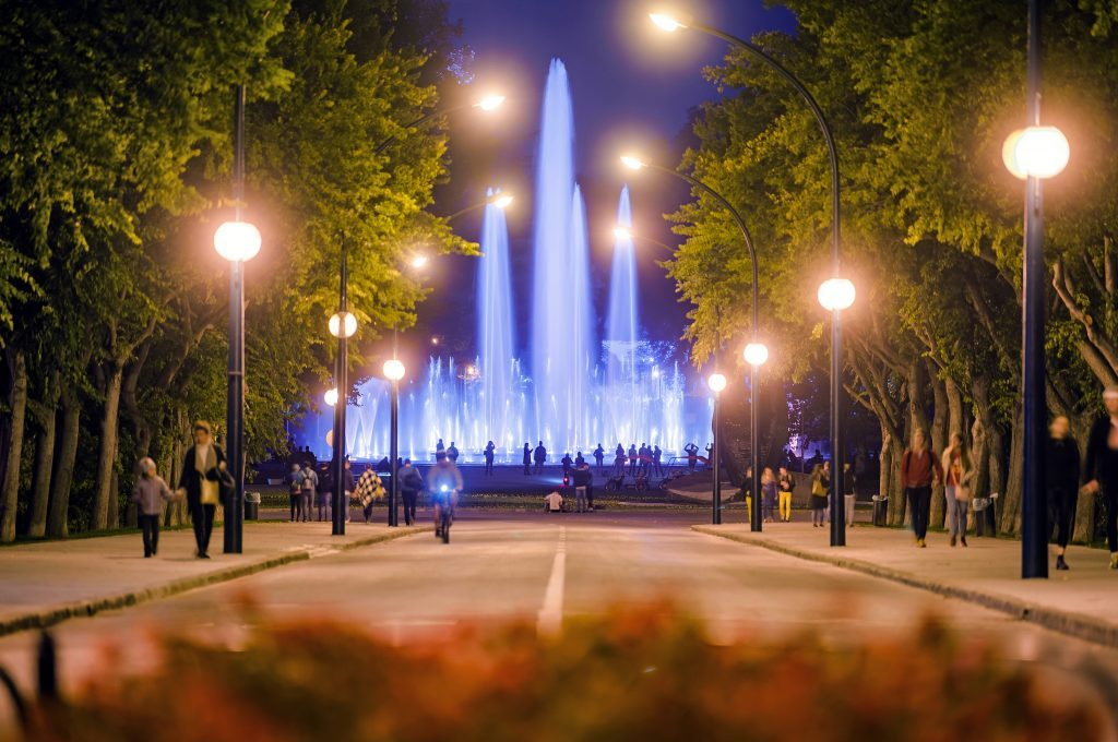 Multimedia Musical Fountain