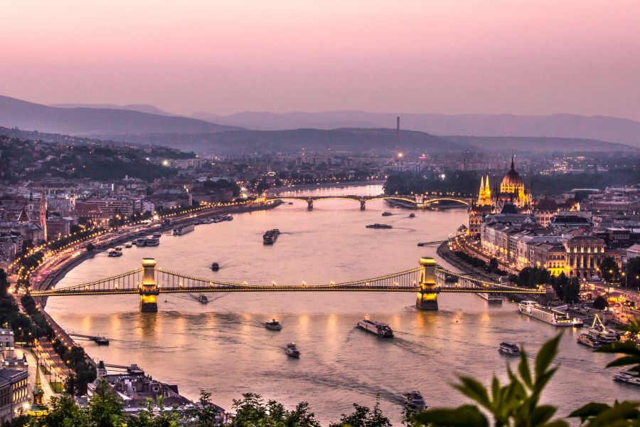Budapest - Buda and Pest