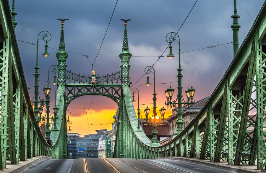 Szabadsag Bridge Budapest