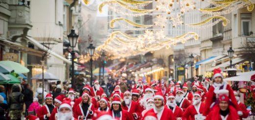 Santa run - Budapest in December