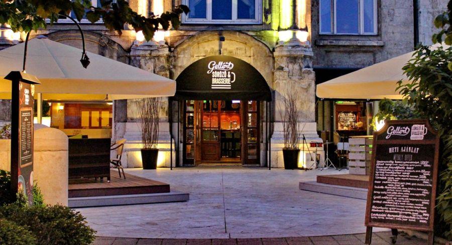 Gellert Brasserie, Budapest