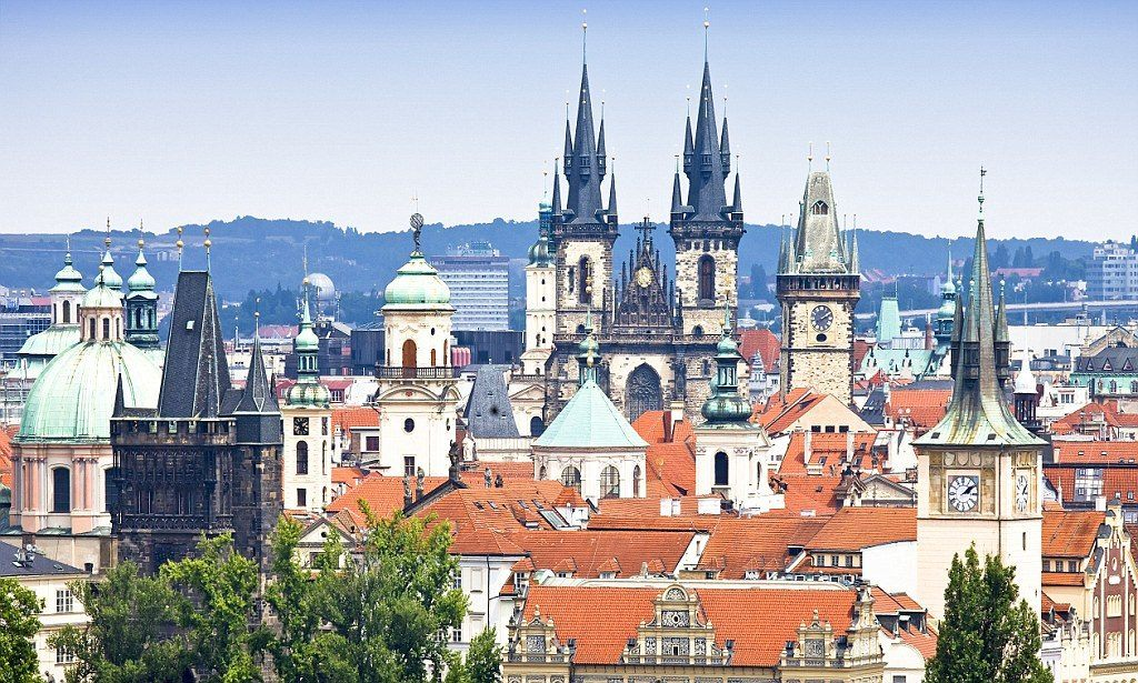 """City of a Hundred Spires"" Prague"