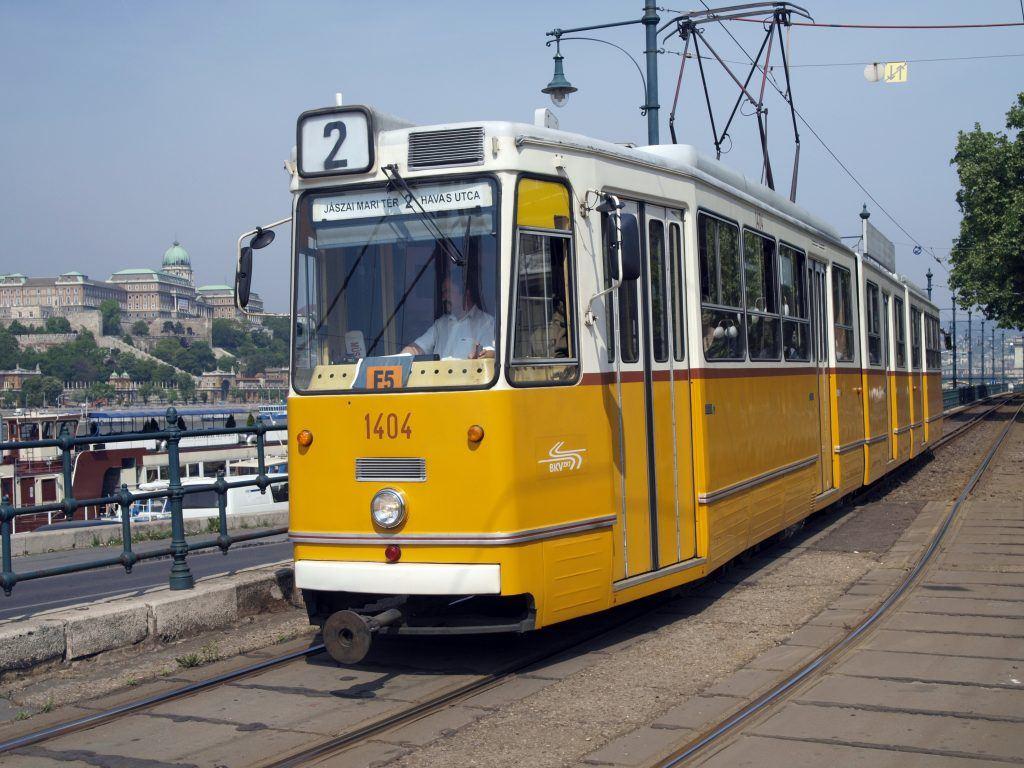 Budapest's tramline 2