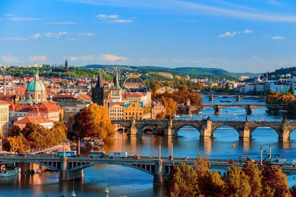 Vltava River Prague