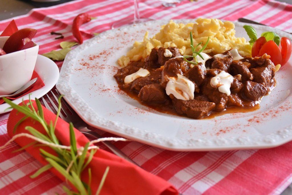 Authentic Hungarian Pörkölt