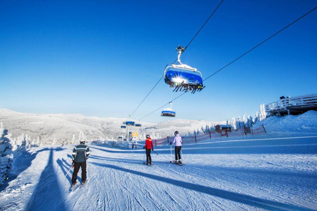 Skiareál Špindlerův Mlýn, Czech Republic
