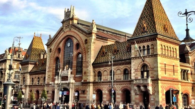 The Fővám Square Market Hall Budapest
