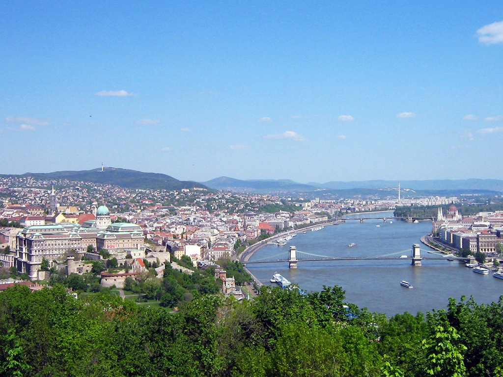 Is Budapest hot in August?