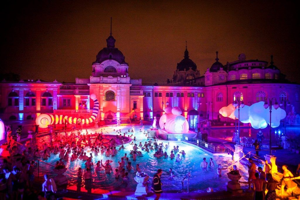 Szechenyi Bath Pool Party
