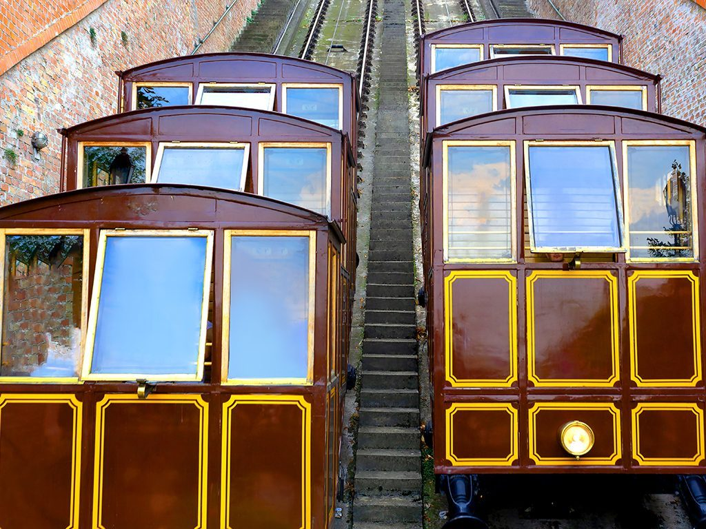 Getting around in Budapest with the Funicular