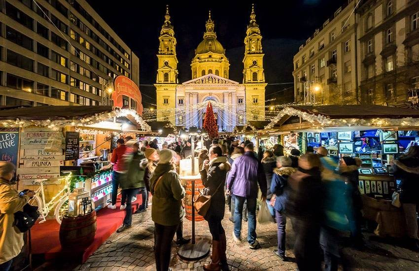 Christmas markets  Budapest