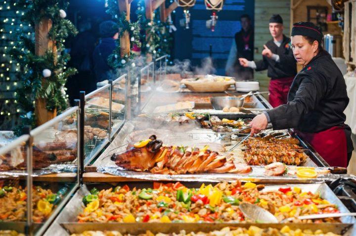 warm street foods in Budapest