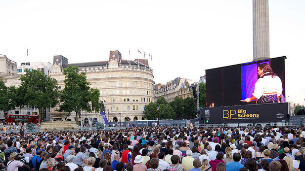 BP big screen opera