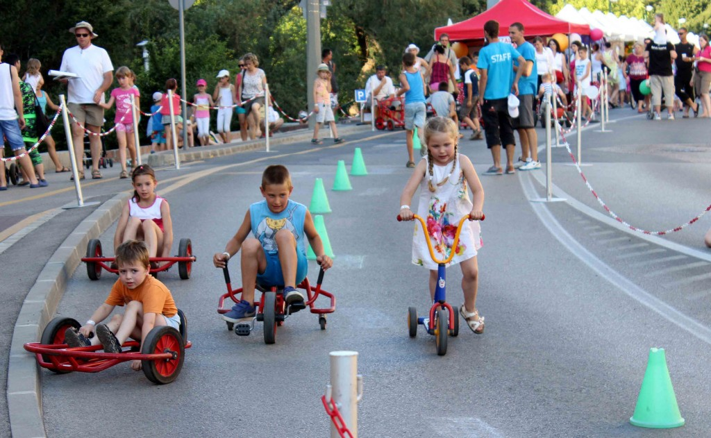 Gyerek bicikli verseny Győrkőcfesztivál 2016