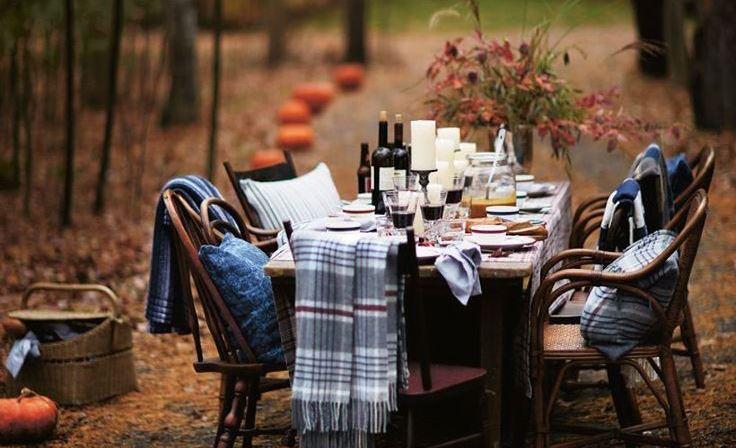 őszi asztal
