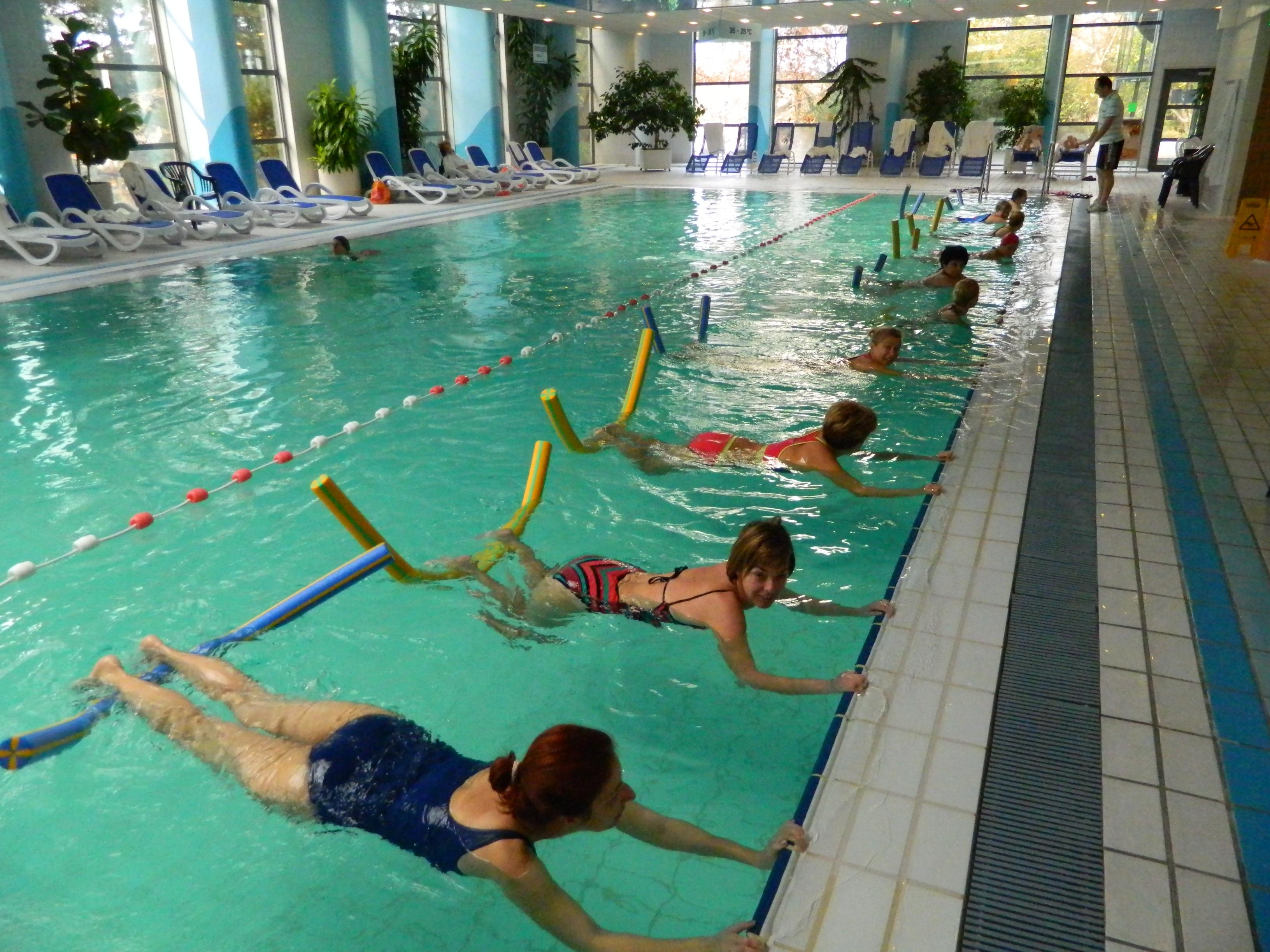 Aqua Fitness a Helia wellness részlegén