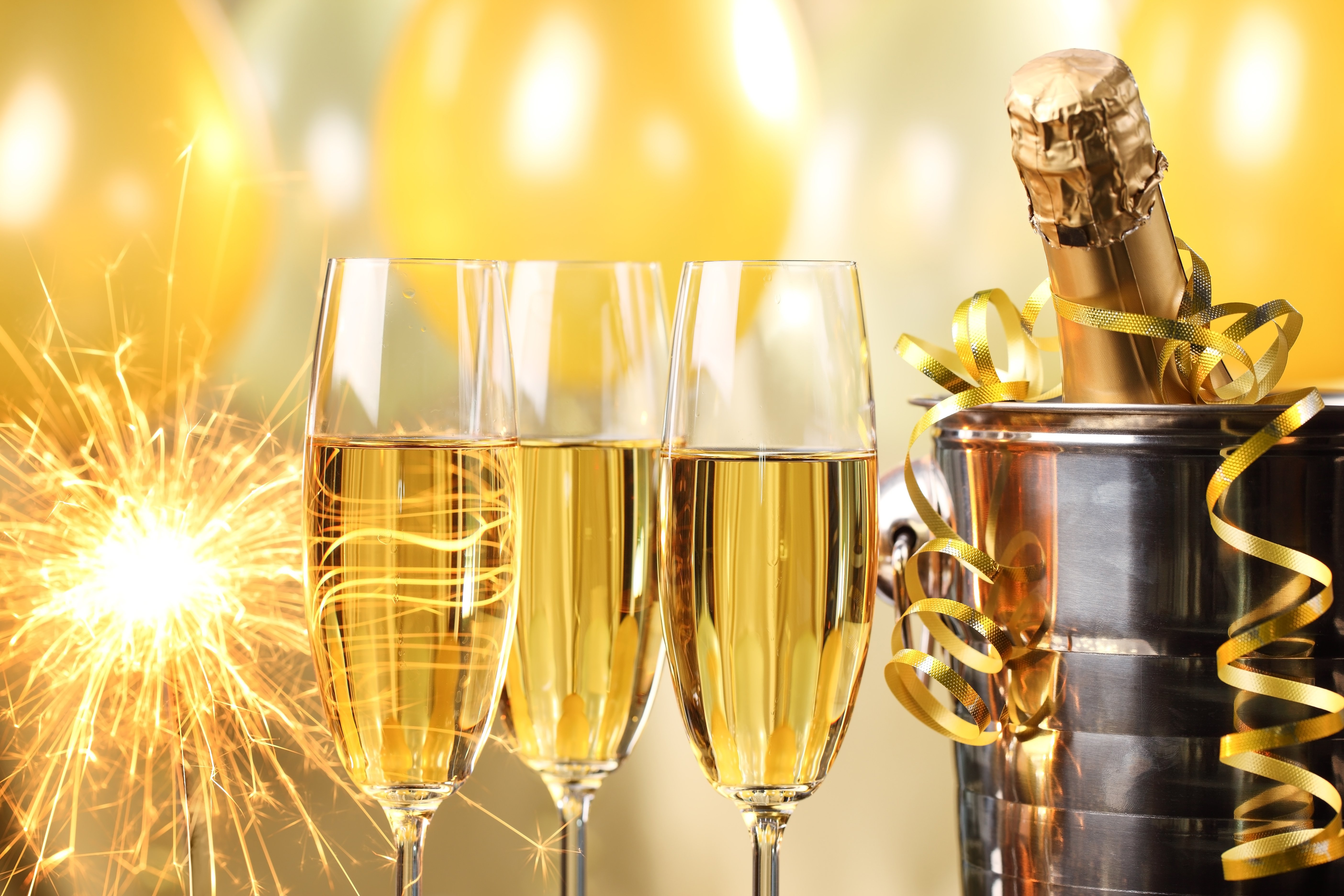 Szilveszteri pezsgő