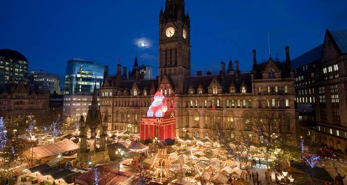 Manchesteri karácsonyi vásár