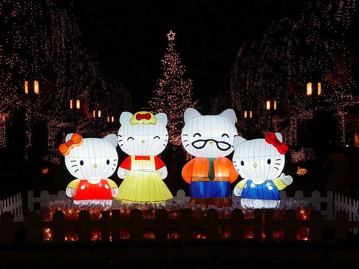 Karácsonyi figurák Japánban