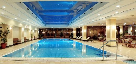 Danubius Health Spa Resort Margitsziget belső medencéje
