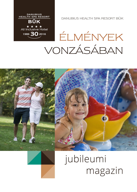 Danubius Bük Jubileumi Magazin
