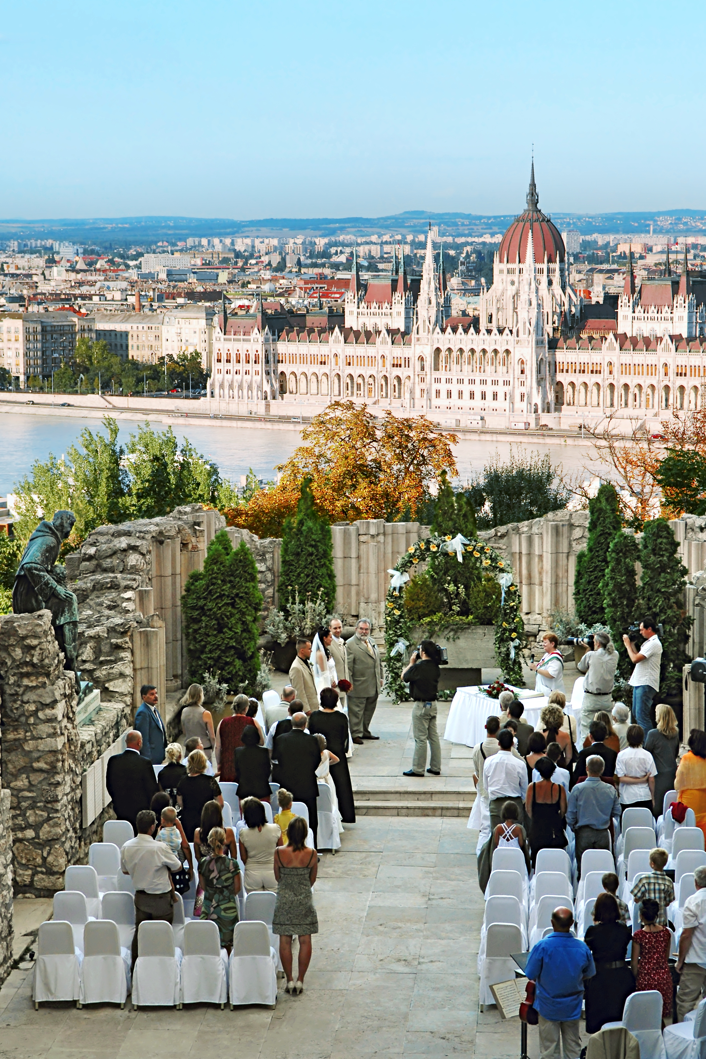 Esküvő a Hilton Budapest Dominikánus udvarban
