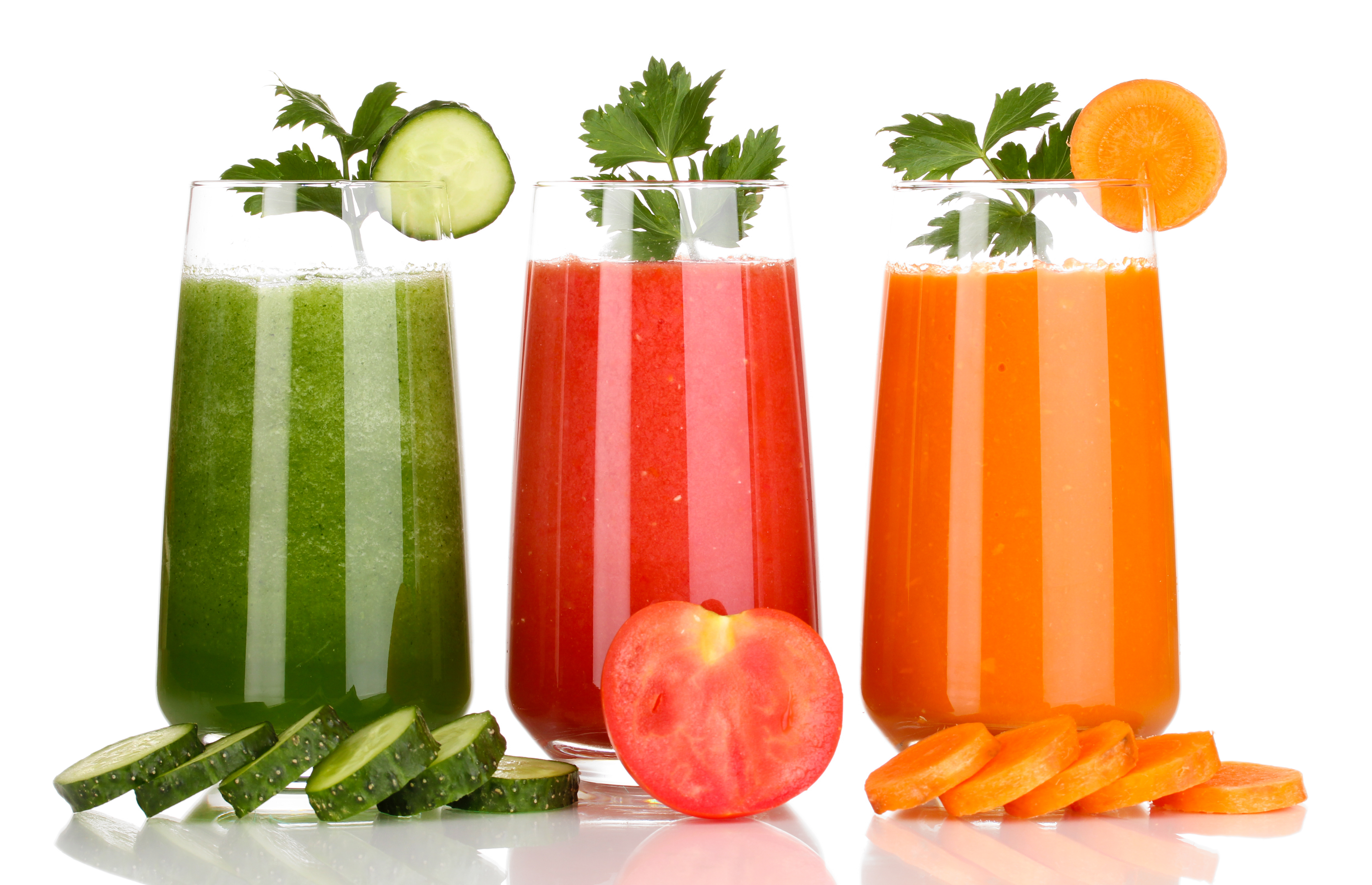 zöldség és gyümölcs levek