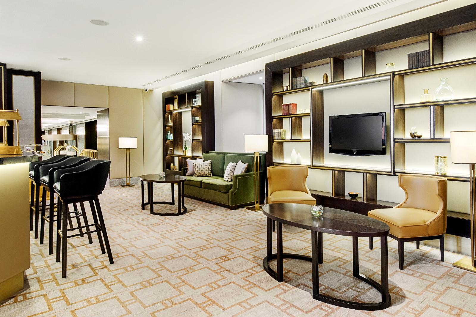 Hilton Budapest - Lobby bar