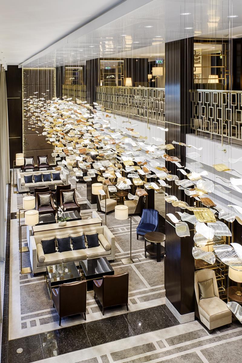 Hilton Budapest - Lobby lounge