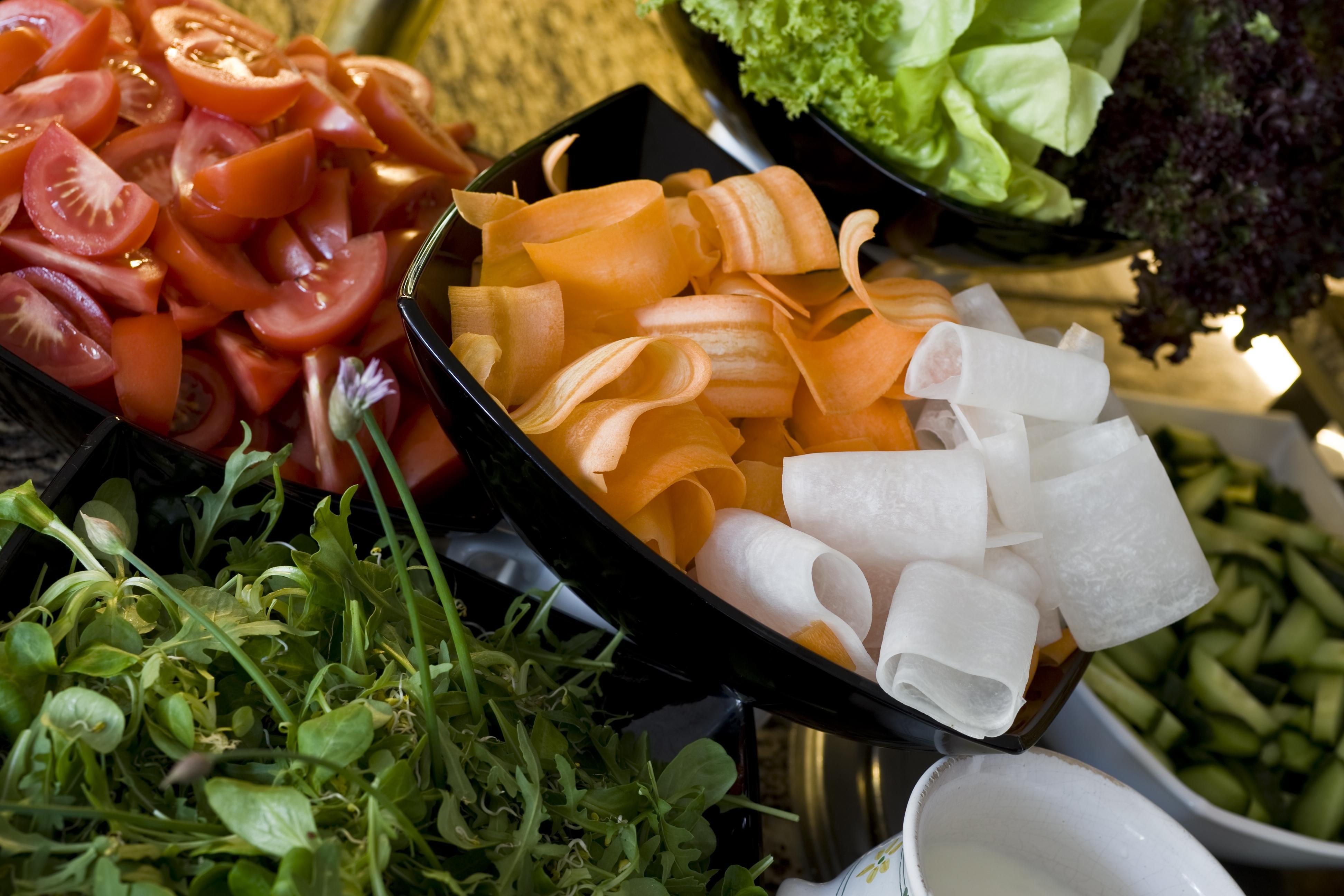 saláta kínálat