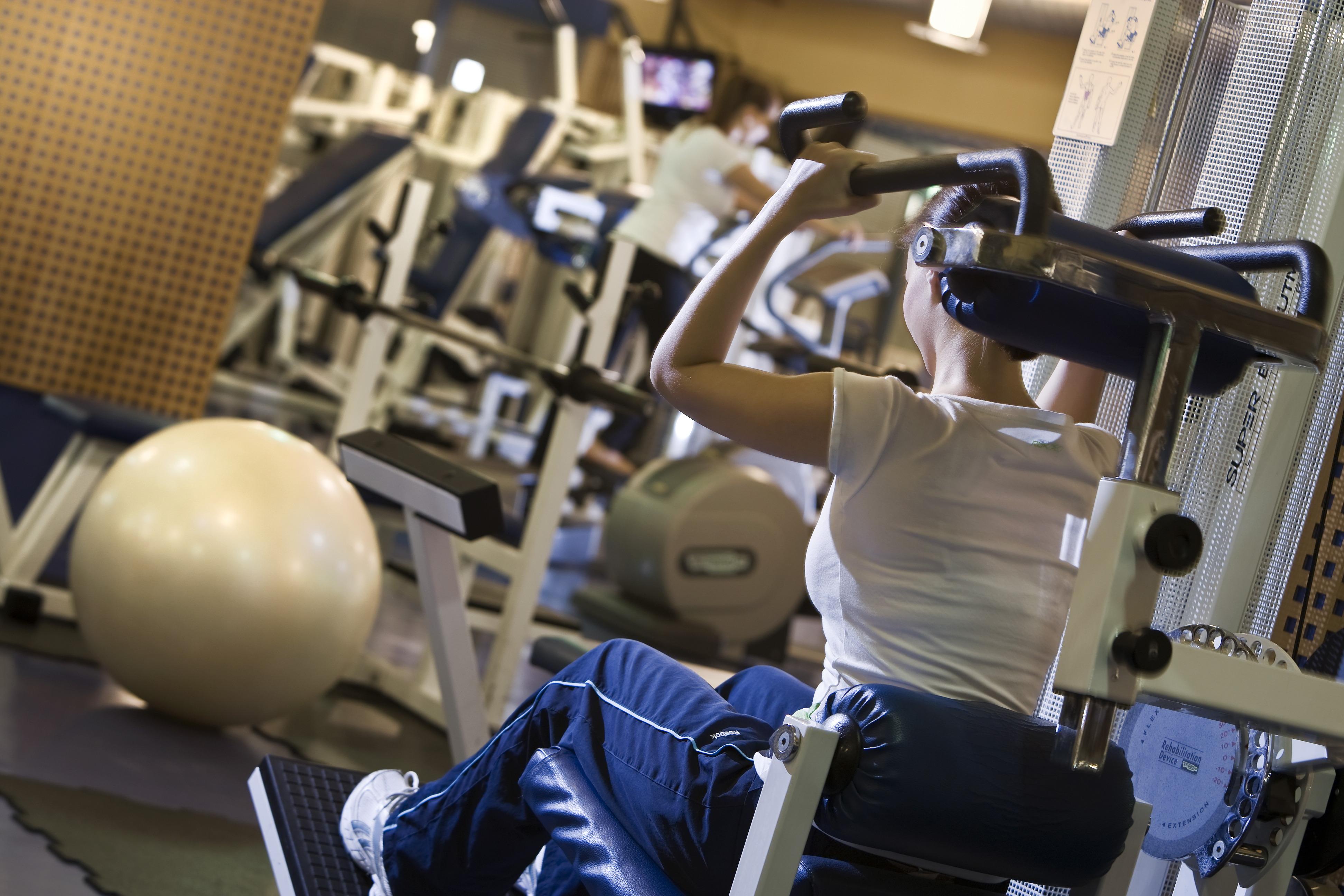 Danubius Premier Fitness edzőterem gépek