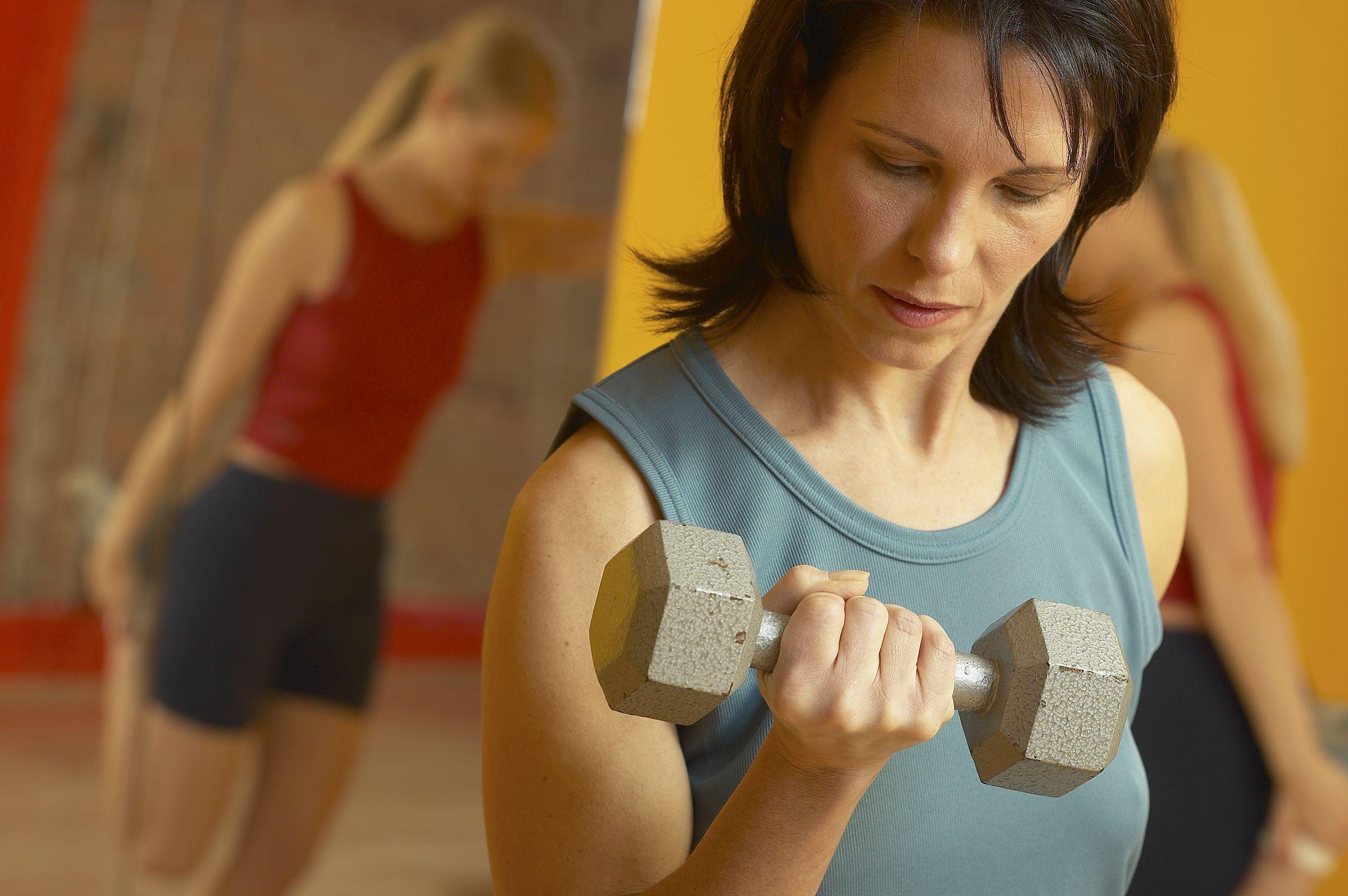 Edzés súlyzókkal
