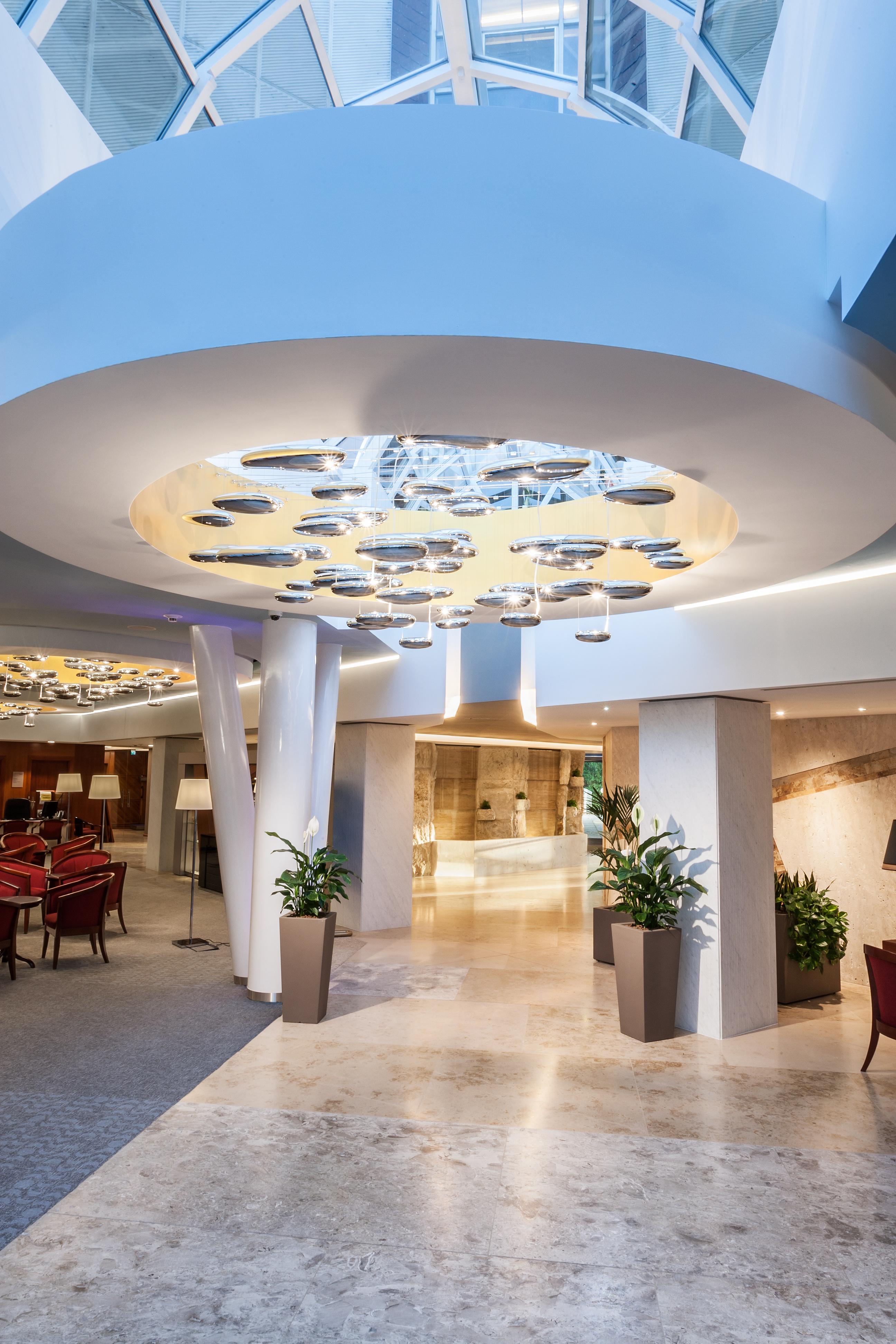 Hotel Aqua Hévíz lobby 2016