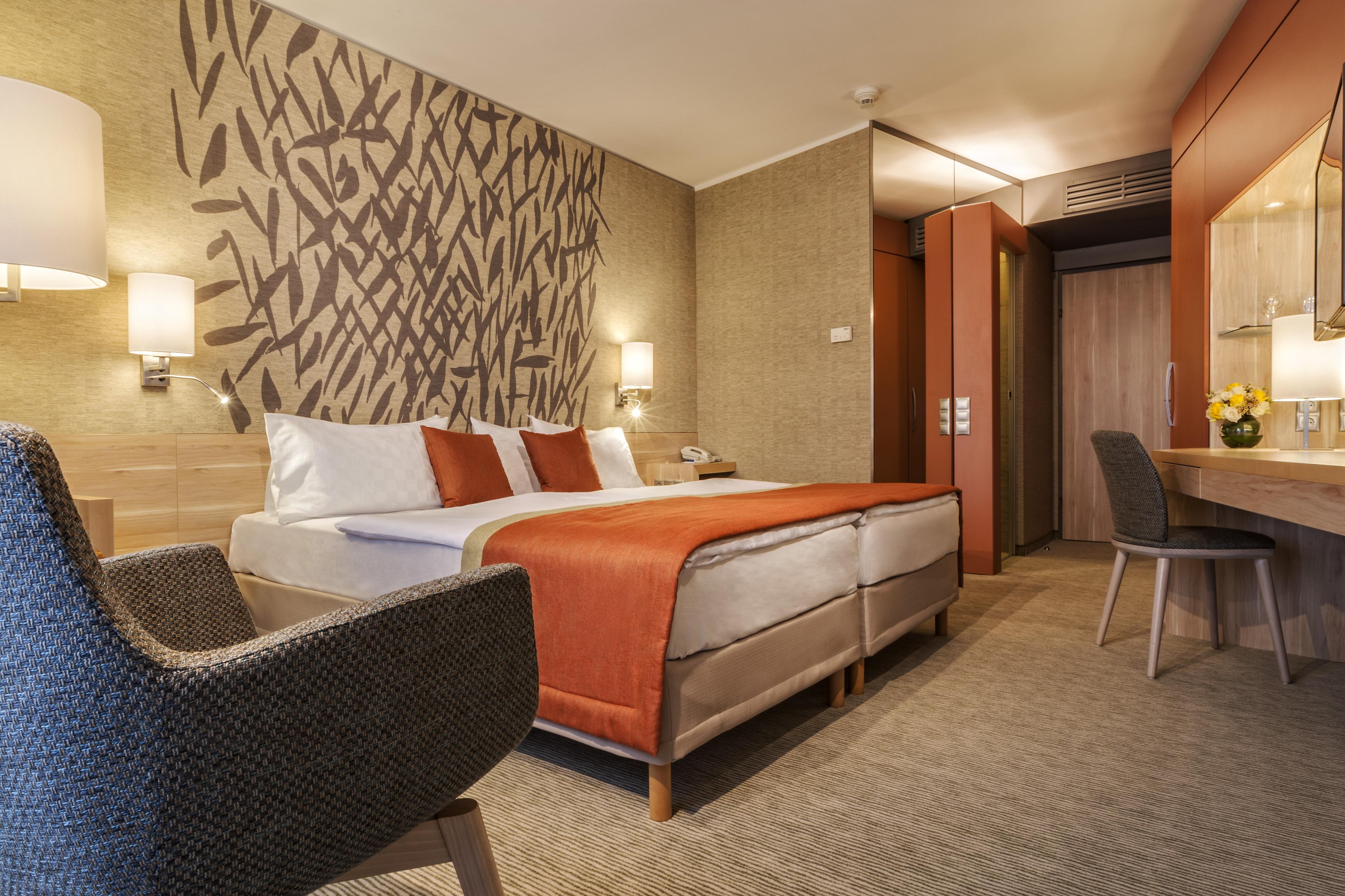 Hotel Aqua Hévíz felújított Superior szoba
