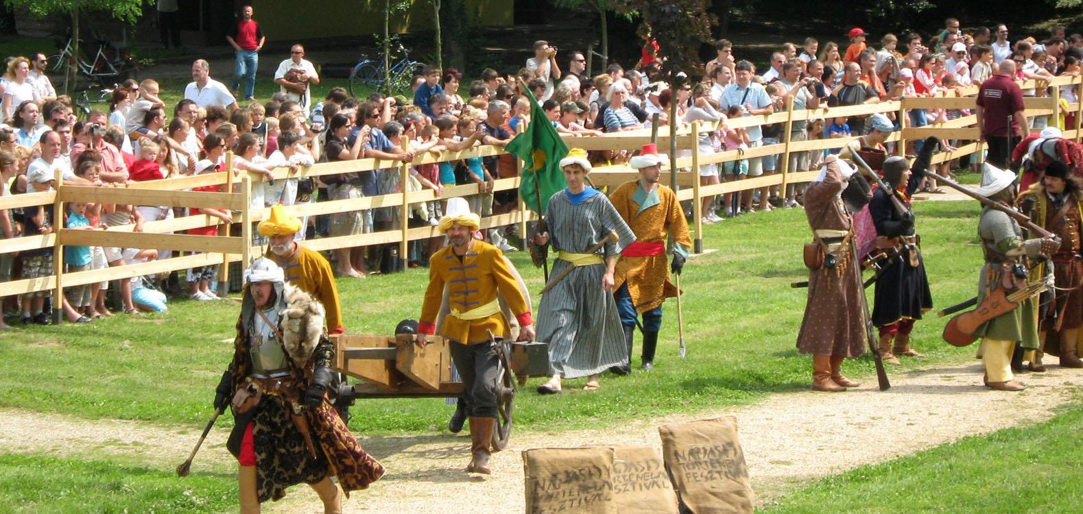 Nádasdy történelmi fesztivál Sárvár