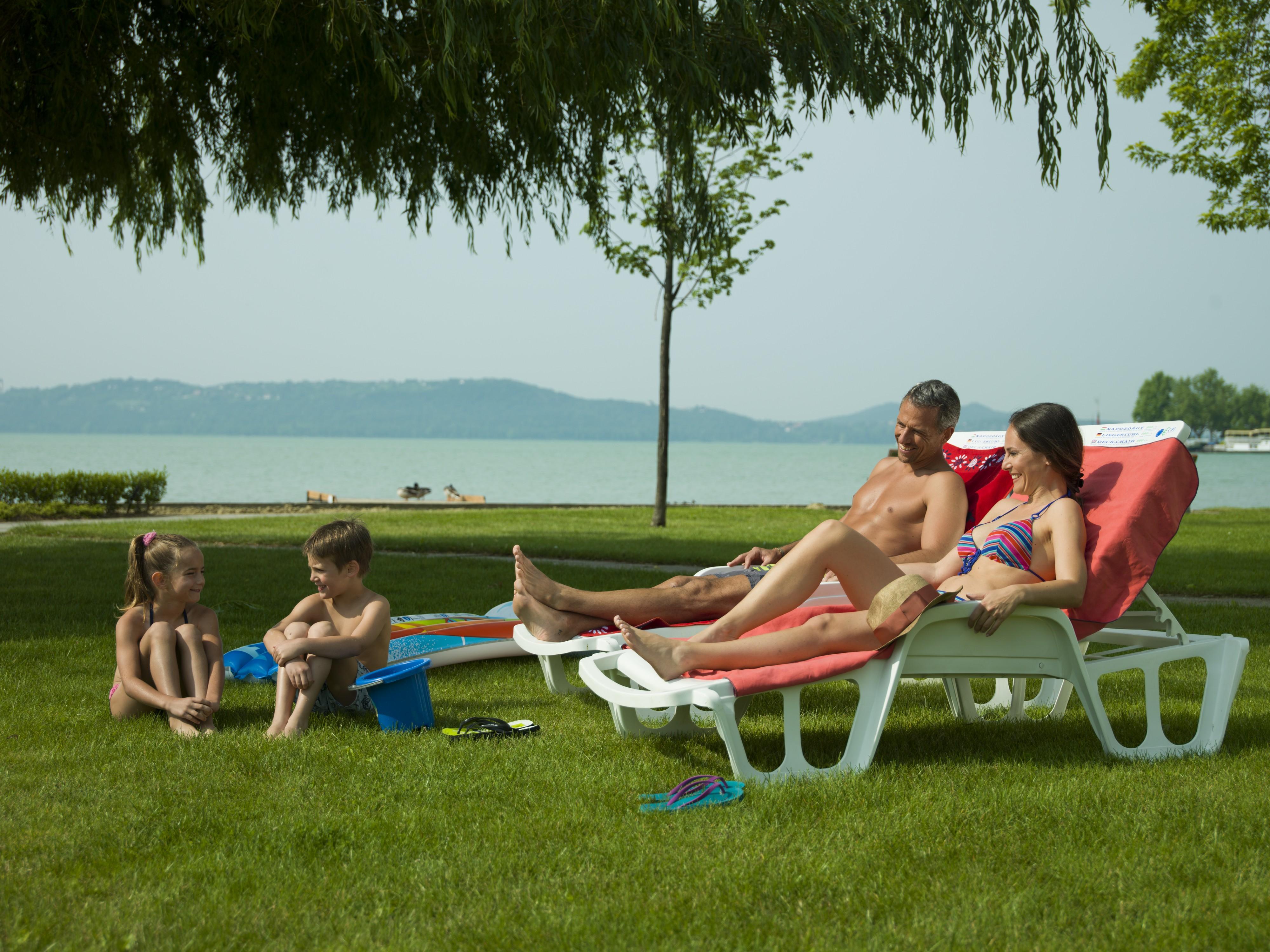Balaton parti pihenés gyerekekkel